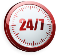 24 hour locksmith clock